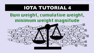 Iota Tutorial 4: Own Weight, Cumulative Weight And Minimum Weight Magnitude