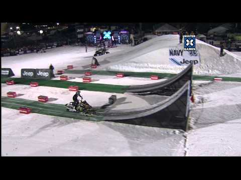 Winter X Games 15 - Heath Frisby Bronze Medal Snowmobile Best Trick