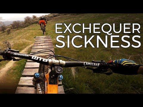 Setting Land Speed Records - Exchequer Mountain Bike Park - La Grange California