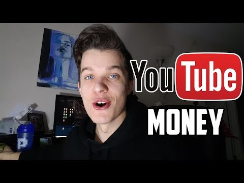 FIRST YOUTUBE PAYCHECK! (How Much I Made)
