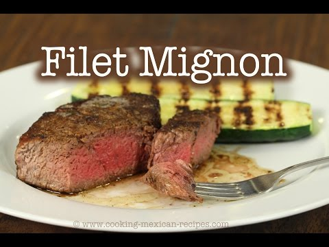 How To Cook A Filet Mignon Steak Perfectly | Rockin Robin Cooks