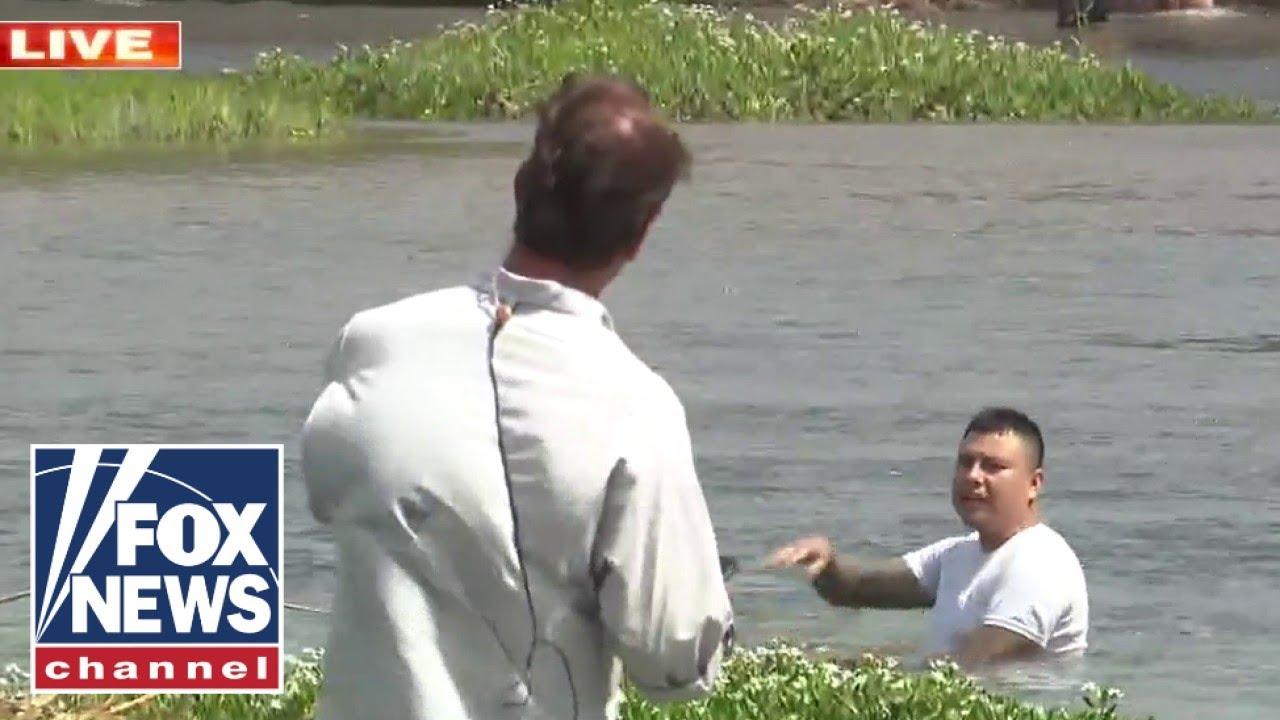 Fox News talks to human smuggler at the border