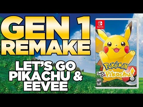 Pokemon Let's Go Pikachu & Let's Go Eevee for Nintendo Switch
