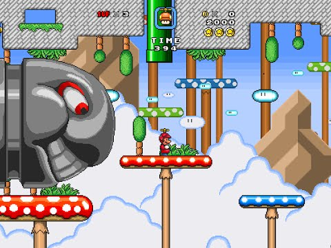 Super Mario Bros. X (SMBX 1.4.2) Custom Level -