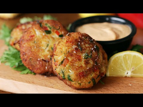 Cornbread Crab Cakes / As Made By Lawrence Page