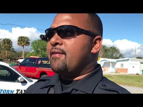 Cocoa Police Motor Officer Rickford Leitch Returns to Patrol Duties After Hit-and Run Crash Injury