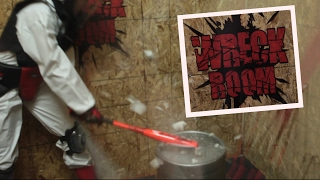 SMASH EVERYTHING In Wreck Room- A new Form of Therapy! | What