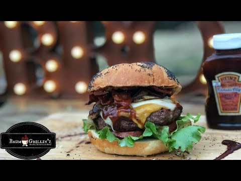 iPhone 8 Plus Video Test | Delicious Burger Food Footage!