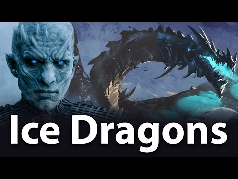 Ice dragons. Game of thrones, season 7, the most exciting theory