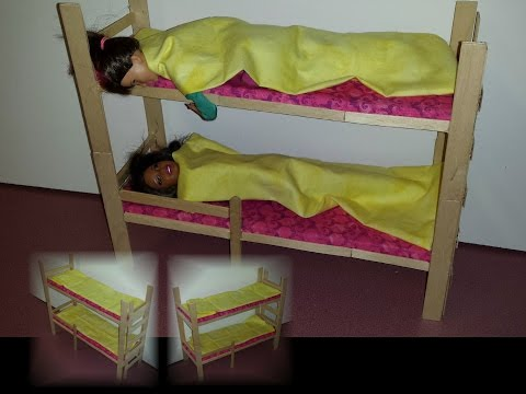 How to make Doll Bunk Bed