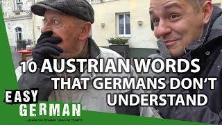 10 Austrian Words that Germans don