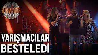 Sema, Merve ve Ümit Karan'dan Survivor Şarkısı | 70.Bölüm | Survivor 2018