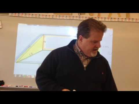 Surface Area and Volume - Scalene Triangular Prism