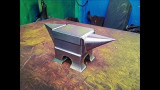 Como se hace un yunque de acero a partir de un rail