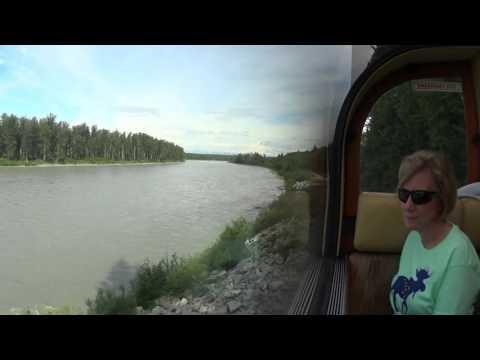 Train from Denali to Whittier Alaska
