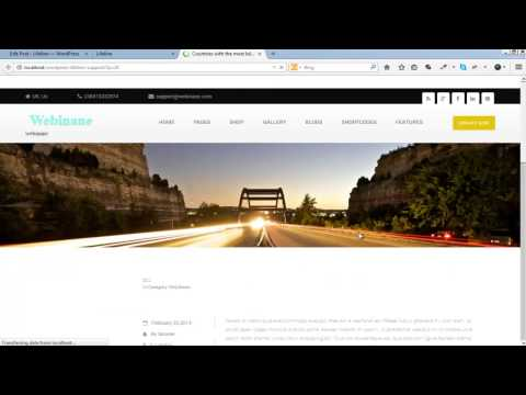 How to create recent news post in Personal Blog WP Theme
