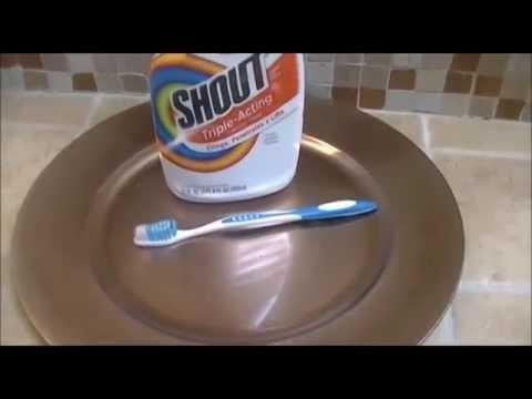 Diy cleaning white collar shirt!