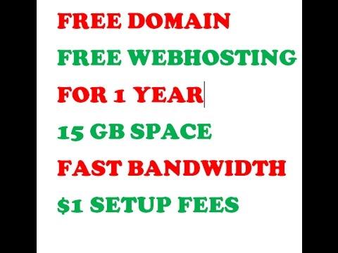 Get Free .com Domain 2017