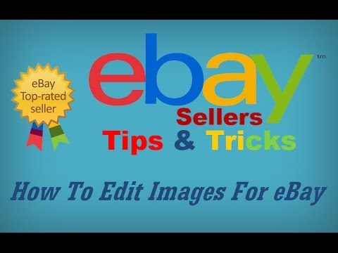 How to Edit Images for eBay ~ Free Software