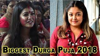 Tanushree Dutta Sister Ishita Dutta  at Mahasaptami Durga Puja  #MeToo #NanaPatekar