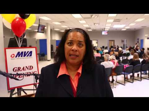 Maryland Motor Vehicle Administration - Ribbon Cutting (Loch Raven/Parkville MVA)