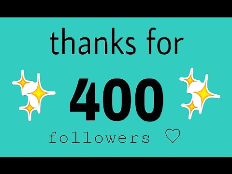 400 FOLLOWERS!! - LETS GET MYTHICAL-