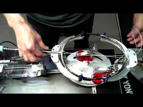 DIY badminton stringing machine,home made badminton stringer.