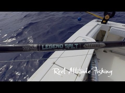 Seigler Reel St Croix Rod Big Game on Light Gear in Bermuda