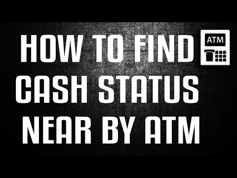 CHECK CASH STATUS NEAR BY ATM