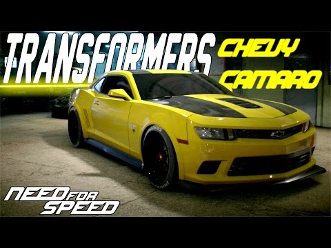 Need For Speed 2015 : TRANSFORMERS CHEVROLET CAMARO Z28 CUSTOMIZATION & DRIFT BUILD