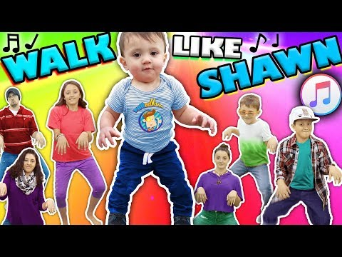 Xxx Mp4 ♫ WALK LIKE SHAWN ♫ Music Video For Kids ♬ Dance Song 3gp Sex