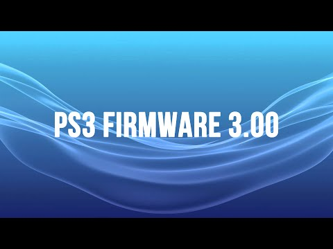 PS3 Firmware 3.00