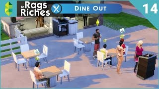 The Sims 4 Dine Out  Rags To Riches  Part 14