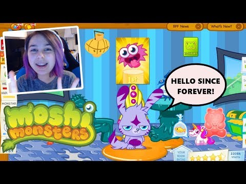 My 4 Year Old MOSHI MONSTERS Account?