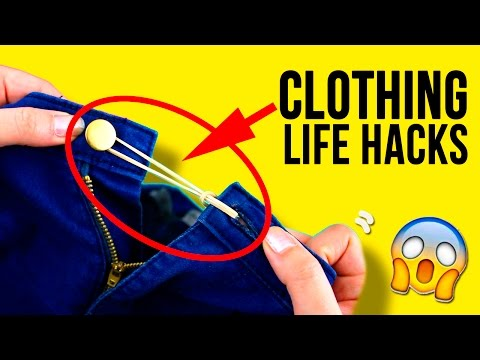 TOP 10 CLOTHING Life Hacks 🤓 Tricks you should KNOW 👚