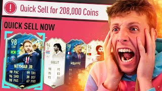 TOTS DISCARD CHALLENGE GONE WRONG!! - FIFA 20