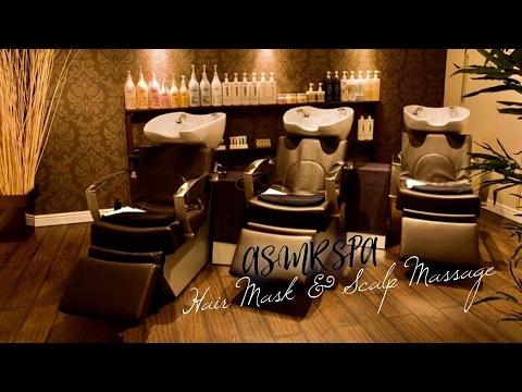 ASMR BINAURAL 3D HAIR MASK TREATMENT & SCALP MASSAGE