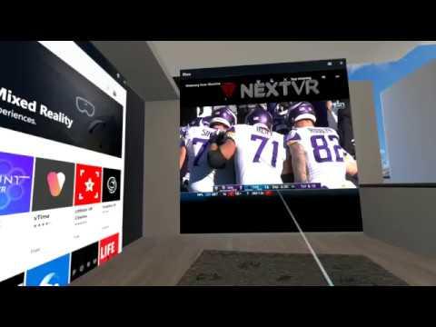NextVR App on Acer Headset/Nitro 5 Laptop