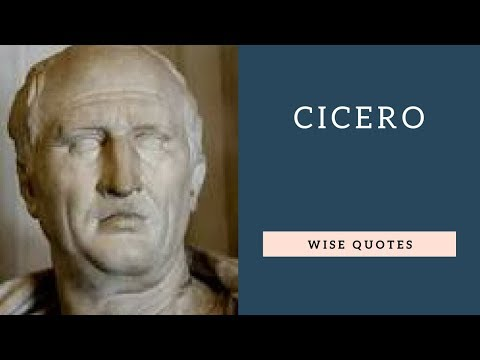 Cicero Sayings & Quotes | Positive Thinking & Wise Quotes | Motivation | Inspiration