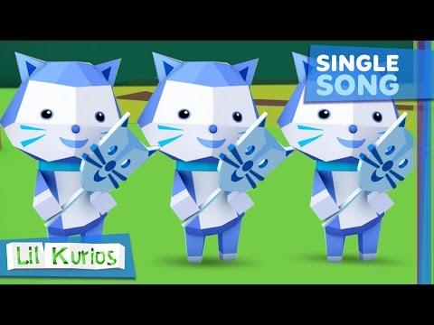 Three Little Kittens | Nursery Rhymes & Kids Song | Lil Kurios