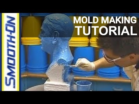 Mold Making Tutorial: How To Make a Brush-On Rubber Mold of a Bust