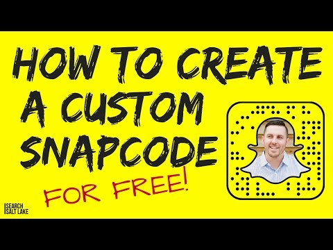 How to Create a Custom Snapcode for Snapchat