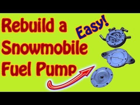 How to Rebuild a Polaris Snowmobile Mikuni Fuel Pump Ski-Doo Yamaha Bombardier Arctic Cat Moto Ski