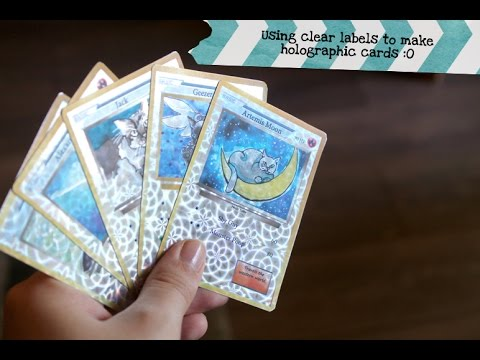 Let's Make! - Holographic Collector Cards