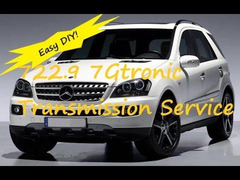 Mercedes 722.9 ML320 ML350, C, E, S, GL Transmission Service