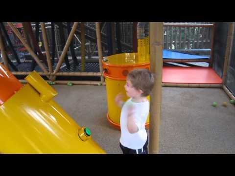 Sammy having fun at Pharaoh's Revenge LegoLand