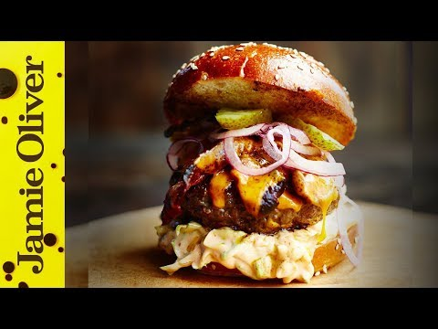 The Ultimate Cheese Burger | Jamie's Comfort Food | Jamie Oliver & DJ BBQ
