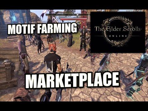 Elder Scrolls Online - PS4 - MARKETPLACE / MOTIF FARMING - REVIEW ( XBOX )