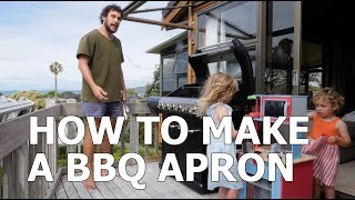 HOW TO MAKE A BBQ APRON
