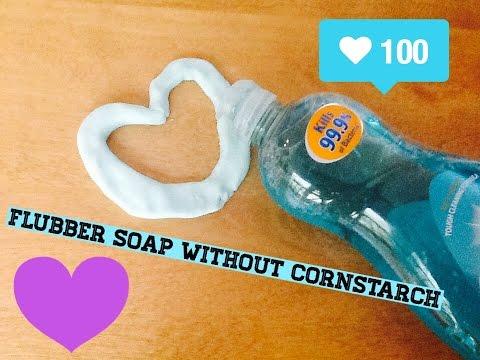 DIY Flubber Soap Without Cornstarch
